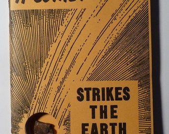 "Meteorite - ""A Comet Strikes the Earth"" - 76-page Paperback Book - 1953"