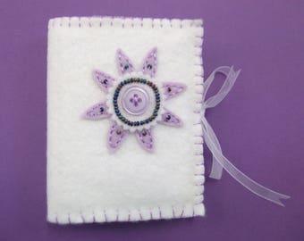 needle book case - felt needle book - felt needle case - needlecase - needle storage - gift for sewer - unusual teacher gift
