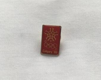 Calgary 1988 Olympics Pin