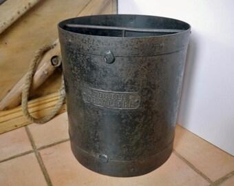 Vintage French Double Decalitre Grain Measure