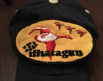 Ithacagun Patch Flying Geese Cotton Canvas Vintage