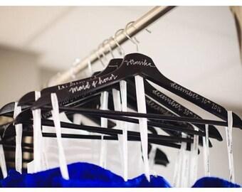 Hand lettered hangers