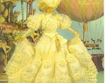 127.Barbie fashion doll dress-crochet pattern in pdf