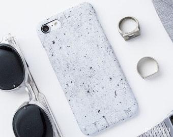 iPhone 7 Case - Concrete Grey - Stone iPhone case, Grey iPhone 7 Case, Minimalist iPhone Case, Matte iPhone Case, Marble iPhone Case, Modern
