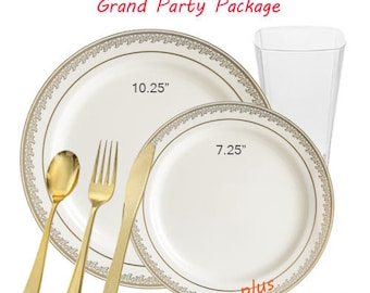 Prestige GRAND Ivory and Gold Party Package