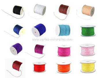 0.8mm - Colors to Choice - Braided nylon thread