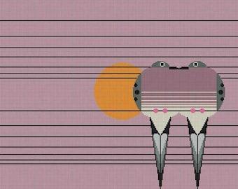 Lovey Dovey Needlepoint Pattern