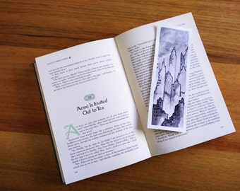 Foggy City Bookmark