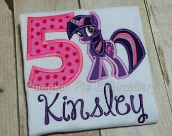 Pony/Sparkle/My Little Pony Birthday shirt