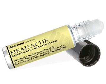 Headache Relief Essential Oil Roll-On, 10ml