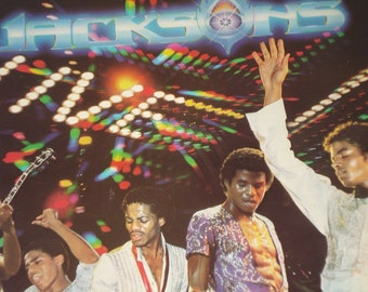 The  Jacksons Live record album, The Jacksons vintage vinyl record