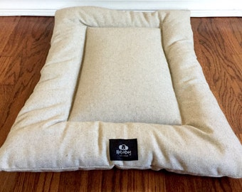 Cottage House Dog Bed, Dog Crate Mat, Puppy Bed