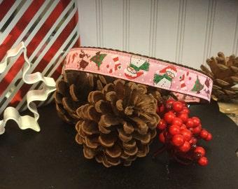 Happy Christmas Dog Collar