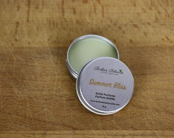 Summer Bliss Solid Perfume