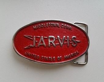Jarvis Middletown Conn. Belt Buckle
