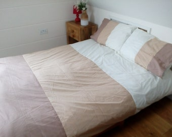 KING Size Duvet Cover With ZIP Closure - Opens Up On THREE Sides!!