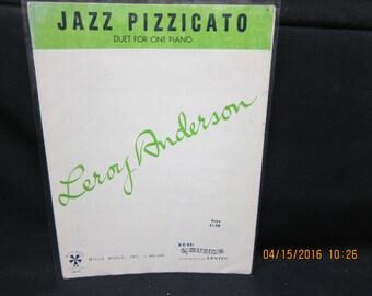 Leroy Anderson - Jazz Pizzicato Sheet Music