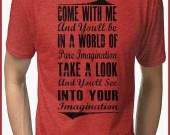 pure imagination Tri-blend T-Shirt
