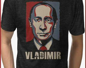 Vladamire Putin Awesome  Tri-blend T-Shirt