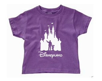 Toddler Disney Shirt Walt and Mickey Partners Castle Disneyland Shirt Disney World Shirt Magic Kingdom Shirt Toy Story Shirt Pixar Shirt