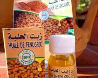 Fenugreek oil bio and Virgin. 30 ml.