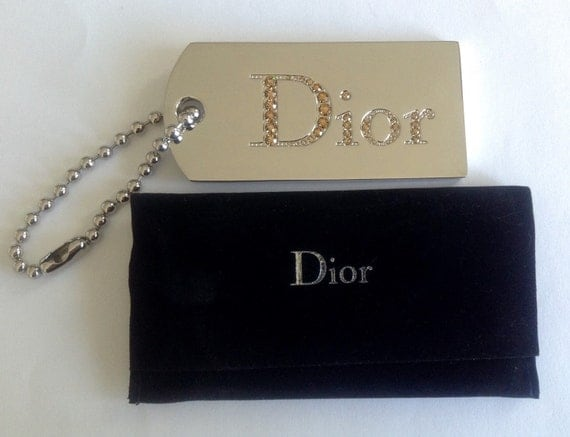 Authentic Dior mirror pendant, can be used as bag pendant