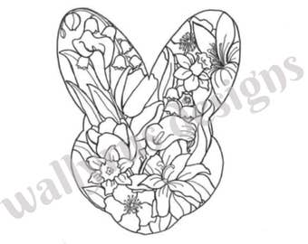 Easter/Spring Coloring Page