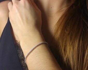 Small bracelet beads 925 Silver