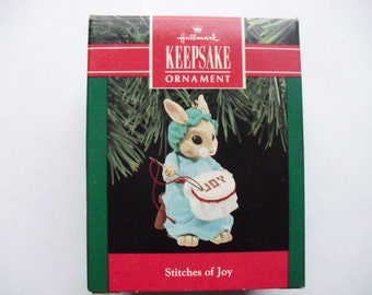 Hallmark Ornament - Stitches of Joy