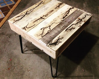 Pallet Table / Upcycled Table / Fractal