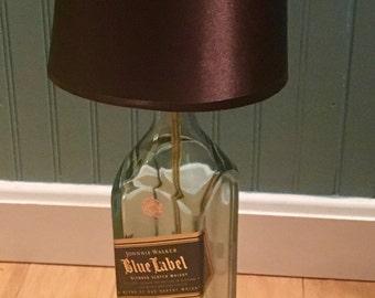Johnnie Walker Blue Label Scotch Bottle Lamp