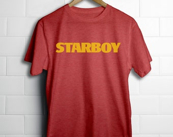 Starboy Weeknd T-Shirt