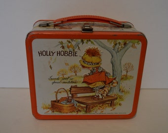 Holly Hobbie Lunchbox and Thermos