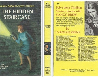 vintage Nancy Drew Mystery Stories #10 - Password to Larkspur Lane by Carolyn Keene, HB