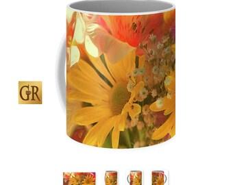 Summer's Bouquet Mug