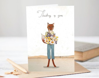 Thinking of you [Greetings Card]