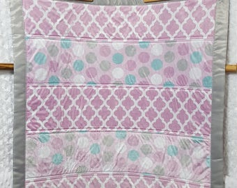 Minky Strip Quilt ON SALE