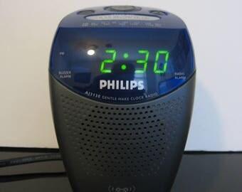 Philips - Gentle Wake AM FM Radio Alarm Clock