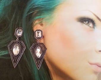 earrings Winter Queen