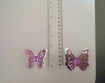 20 Die Cut 3D butterflies