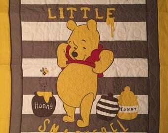Pooh Bear Baby Quilt