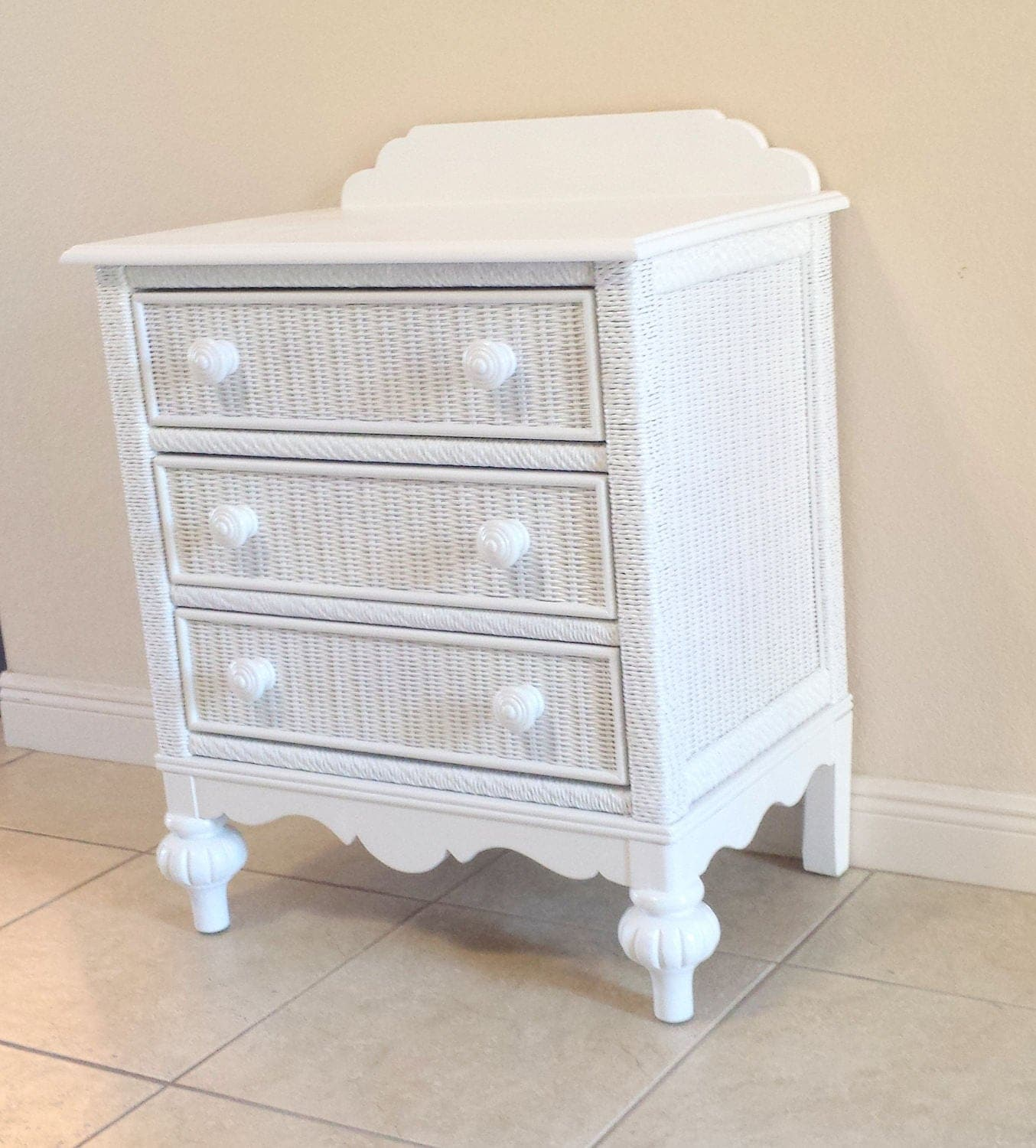#7B6650 White Lexington Wicker 3 Drawers Chest Commode. with 1354x1500 px of Highly Rated White Wicker Chest Of Drawers 15001354 picture/photo @ avoidforclosure.info