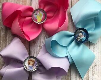 Girls Disney Princess Hairbows