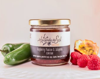 Raspberry passion & Jalapeño Jam-
