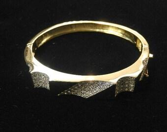 DIAMOND BANGLE BRACELET#2721