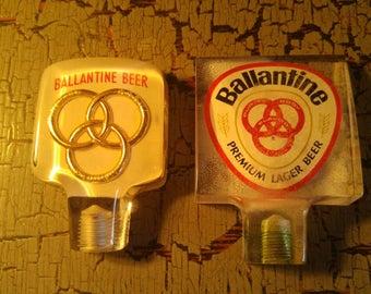 Ballantine Beer Plex Glass Tap Haddle (2)
