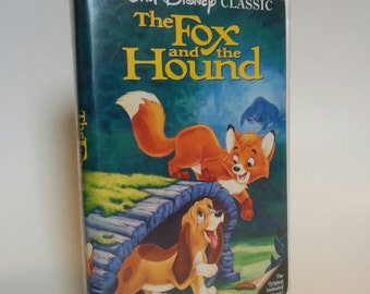 Disney The Fox and the Hound Black Diamond Edition VHS Cassette