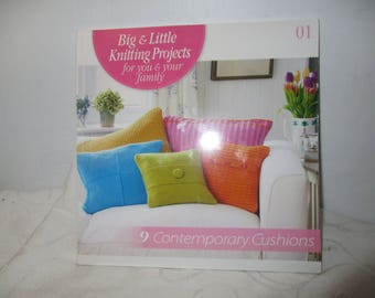 Big and Little Knitting Projects for You nd Your Family - 9 Contemporary Cushions