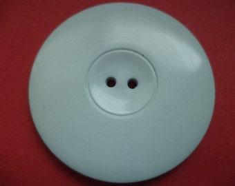 3 large buttons 44mm light blue (6349) coat buttons