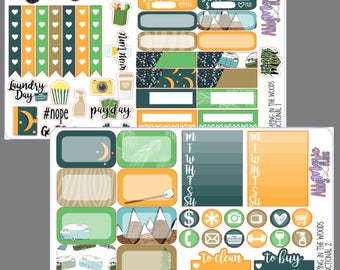 Camping in the Woods- A La Carte Sticker Sheets